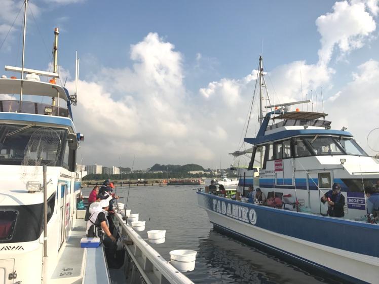 船でアジ釣り!神奈川県金沢八景【忠彦丸】